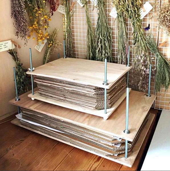 Home Made Flower Press
